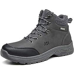 Brfash Chaussures de Randonnée pour Hommes en Plein Air Imperméable Respirant Marche Trekking Sneakers pour Hommes