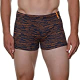 bruno banani Herren Badehose Short VIP, Blau (Navy/Orange 1997), Medium (Herstellergröße:5/M)