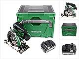 Hitachi C 18 DBAL 18 V Akku 165 mm Brushless Handkreissäge im Hitachi System Case HSC Typ 4 + 1x Hitachi BSL 1850 18 V 5,0 Ah