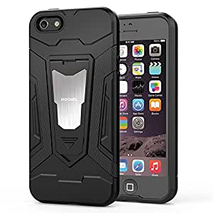 704001e02b3 HOOMIL iPhone SE Case,iPhone 5 Case Heavy Duty Armor Shockproof Silicone  TPU Bumper for