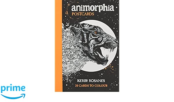 Buy Animorphia Postcards Colouring Postcards Book Online At Low