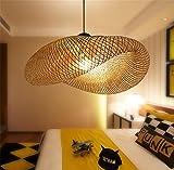 XYDM Kronleuchter Südostasiatischer Stil Kreative Bambus Aussetzung Hängeleuchte Restaurant Home Hängedecken Leuchte