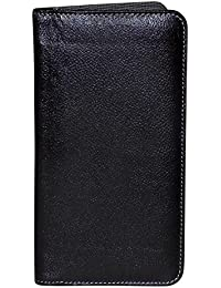 Style98 Black Genuine Leather Passport Pouch||Slim Travel Wallet||Passport Wallet||Passport Holder