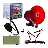 Mediawave Store Megafono da Auto in PVC con Amplificatore Lettore USB per annunci pubblicità MP3