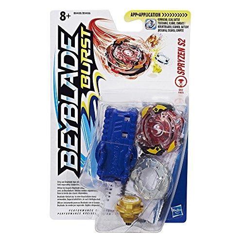 Hasbro Beyblade Burst B9488ES0 - Starter Pack Spryzen S2, Kreisel Test