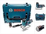 Bosch GST 10,8 V-Li Professional Akku Stichsäge in L-Boxx + 1 x GBA 10,8 V 2,5 Ah Akku