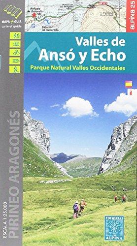 Valles de Ansó y Echo 1:25.000 por Editorial Alpina S.L.