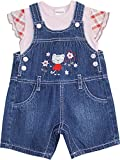 Schnizler Mädchen Latzhose Kätzchen, 2 tlg. mit Jeans