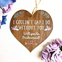 Be my bridesmaid gifts | will you be my bridesmaid | bridesmaid plaque | to go with Bridesmaid Card | proposal