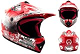 "Armor · AKC-49 ""Red"" (red) · Casco Moto-Cross · Off-Road Quad..."