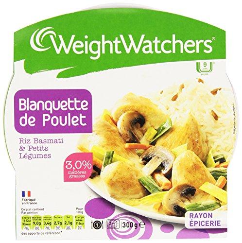 Weight Watchers Blanquette Poulet Riz 300 g