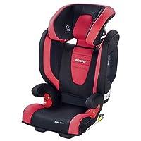 Recaro Monza Nova 2 Seatfix - Silla de coche, grupo 2/3, color rojo/negro