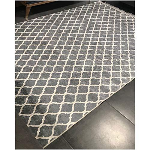 Alya Teppich Teppich dinarsu Sunshine-1082Grey, 160 x 230 cm