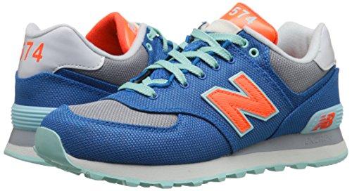 Damen Sneaker WL574WHB blue/red Blau