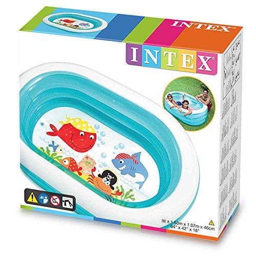 Planschbecken – Intex – Pool Oval Whale Fun - 3