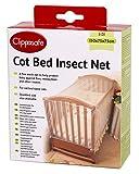 Clippasafe Kinderbett Insektennetz, Groß (150 x75x75cm)