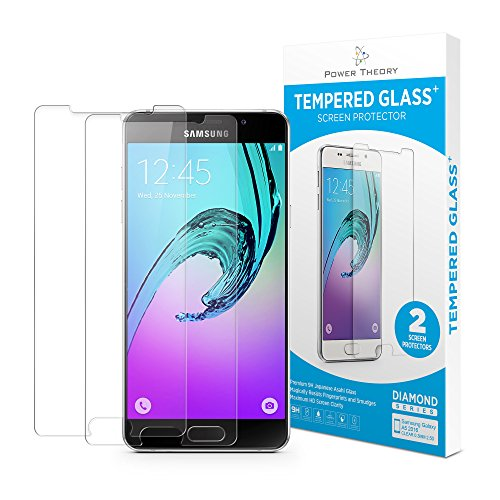 Screen Galaxy Glass S5 Protector (Samsung Galaxy A5 2016 Panzerglas (2 Stück) - Schutzglas Japanische 9H Tempered HD Schutzfolie, Displayschutzfolie Glas, Screen Protector Hartglas, Panzerglasfolie, Handy Glasfolie, Panzerfolie…)