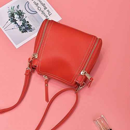 Pacchetto CengBao donna nuova edizione coreana telefono polizze di carico della spalla borse donna elegante e versatile messenger ulzzang Mini Pacchetto, blu Rosso