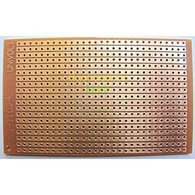 2PCS LINE PCB (FR2 - A Grade Material)(15 x10 CM) General Purpose Printed Circuit Board-Strip-board,