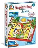 Clementoni 12381 Sapientino Junior - Juego electrónico educativo de asociación [Importado de Italia]
