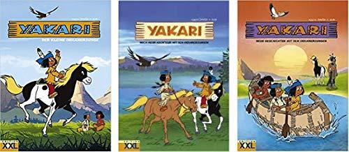 3 Yakari Bände 1. Neue Geschichten mit dem Indianerjungen & 2. Der kleine Indianerjunge & 3. Noch mehr Abenteuer mit dem Indianerjungen