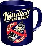 Original RAHMENLOS Kaffeebecher : Kindheit ohne Handy 2628