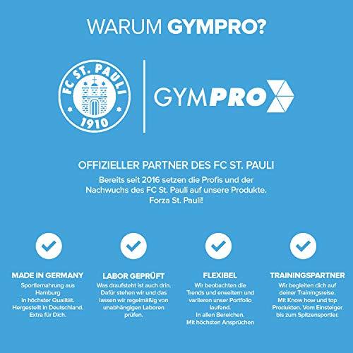 GymPro Weight Gainer Professional mit Protein, Kohlenhydrate (Maltodextrin, Dextrose) und Aminosäuren + Kreatin