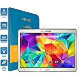 PREMYO cristal templado Tab S 10.5. Protector cristal templado Galaxy Tab S 10.5 con una dureza de 9H, bordes redondeados a 2,5D. Protector pantalla Galaxy Tab S 10.5