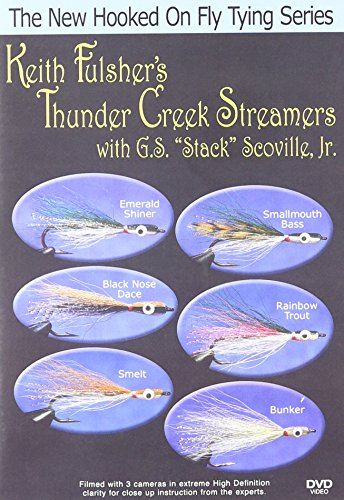 "New Hooked on Fly Tying, Keith Fulsher\'s Thunder Creek Streamers w/ G.S. ""Stack\"" Scoville, Jr."