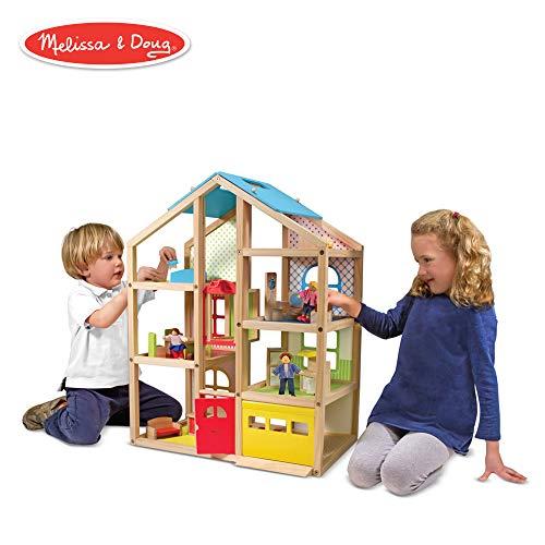 se Dollhouse and Furniture Set ()