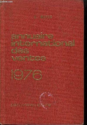 Annuaire international des ventes -peinture -sculpture -1975 par Mayer E.