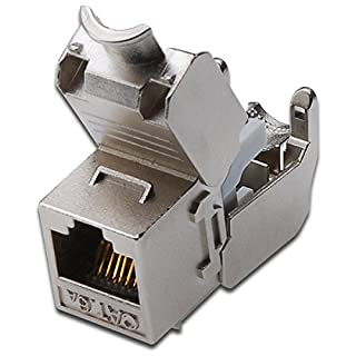 7x Assmann DN-93615Digitus Cat 6A SHIELDED Keystone Module