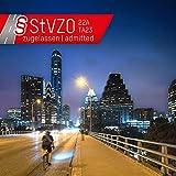 ANSMANN Fahrradlicht Set StVZO zugelassen - Akkubetrieben und aufladbar über USB, CREE LED, regensicher, einfache Montage, abnehmbar - Fahrradbeleuchtung bestehend aus Frontlicht & Rücklicht - 2