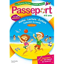 Passeport de la Moyenne Section à la Grande Section - Cahier de vacances