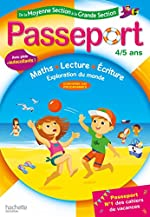 Passeport de la Moyenne Section à la Grande Section - Cahier de vacances de Nadia Poure