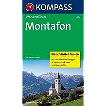 Montafon: Wanderführer mit Tourenkarten und Höhenprofilen