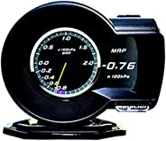 Magician F8 Car HUD Head Up Display OBD Speedometer Smart Gauge with LCD Screen Display ECU Computer Data for