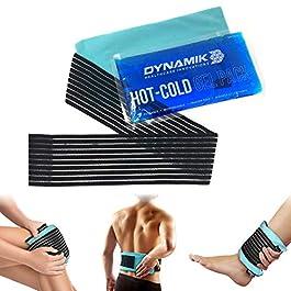 'Dynamik Products – Impacco Ice Pack con Compressa Gel Freddo Caldo – Fasciatura Terapeutica Multiuso con Cuscinetto…