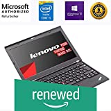 (Renewed) Lenovo Thinkpad X230 12.5 Inch Laptop (core i5 3320M/8GB/240 GB SSD/Windows 10 Pro/MS Office Pro 2019/Integrated graphics), Black