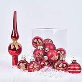 bfaf382ce56 Amazon.es  Adornos Cristal - Bolas de navidad   Adornos  Hogar y cocina