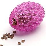 Dispensador de bolas de juguete para perro, rompecabezas interactivo con bola de hielo, juguete dispensador de comida para perro