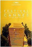 Affiche Officielle du Festival CANNES 2016 (Format 80x60 cm ROULEE)