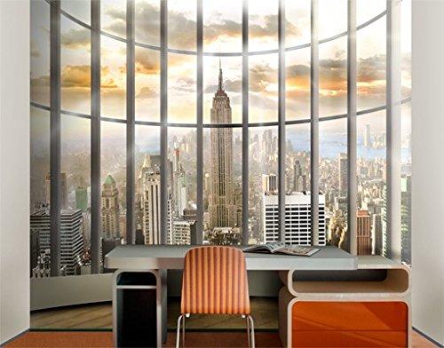 Papiertapete - Fototapete No.171 'OFFICE VIEW' 300x280cm Büro New York City USA , Größe:280cm x 300cm