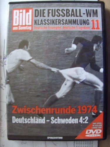 Die Fussball-WM ~ Klassikersammlung 11 ~ Deutsche Triumphe, deutsche Tragödien ~ Zwischenrunde 1974 ~ Deutschland  - Schweden 4:2  ~ Das Spiel in voller Länge