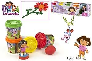 Dora Explorer 4 Pots de Pate a Modeler