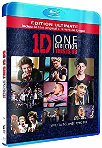 One direction - Le film - This is us - Edition Ultimate version longue - Edition spécifique Amazon.fr [Blu-ray]