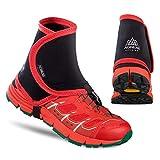 Tellaboull for Couvre-Chaussures de Protection Anti-Sable protecteurs de Gaines réfléchissantes Unisexes de Plein air pour Le Jogging en Cours d'exécution, Marathon