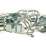 DeClean Universalbügel für alle Einkochgläser, Spannbügel für Einmachgläser ab Ø 80 mm