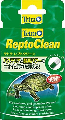 Tetra Repto Clean Wasseraufbereiter (für sauberes und gesundes Wasser in Aquaterrarien), 1 Packung (12 Kapseln) (Wasser Sauber)