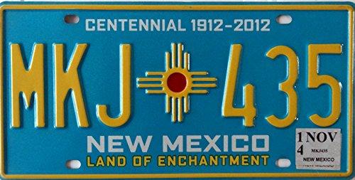 US Nummernschild NEW MEXICO Kennzeichen # USA License Plate # Auto - Schild